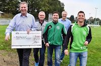Spendenübergabe beim Hohenasper Sportclub