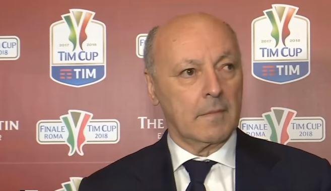 Giuseppe Marotta, amministatore delegato della Juventus, ha rilasciato alcune dichiarazioni sulla finale di Coppa Italia di Mercoledì, sul campionato sul futuro di Buffon e Allegri