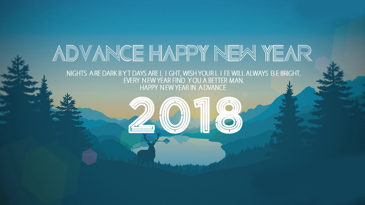 best new year advance wishes images