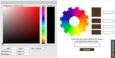 Cara Pasang Kode Warna secara Online