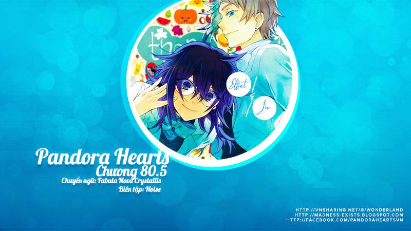 Pandora Hearts chương 080.5 - extra episode: it makes all kinds trang 1