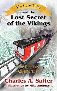 The Travel Twins and the Lost Secret of the Vikings  cover