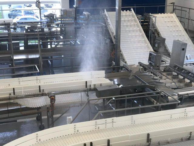 Optimizan hasta un 90% el uso de agua para limpieza en industria salmonera