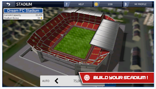 Dream League Soccer 2016 v3.041 Mod Apk + Data (Unlimited Money) Free