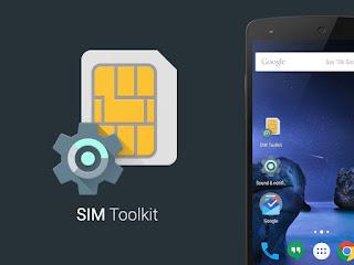 Tutorial Cara Menampilkan dan Memunculkan Menu Kartu SIM Toolkit M-Banking HP Oppo Vivo