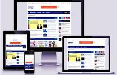 Share Mẫu Template blogspot tin tức chuẩn seo -HTML5 mới nhất 2018