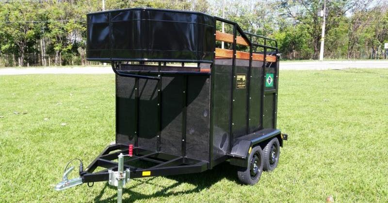 Carretinha Para Cavalos Modelos Fábrica De Reboque