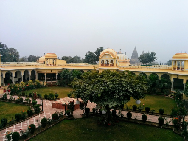 The beautiful Amar Mahal property, Orchha