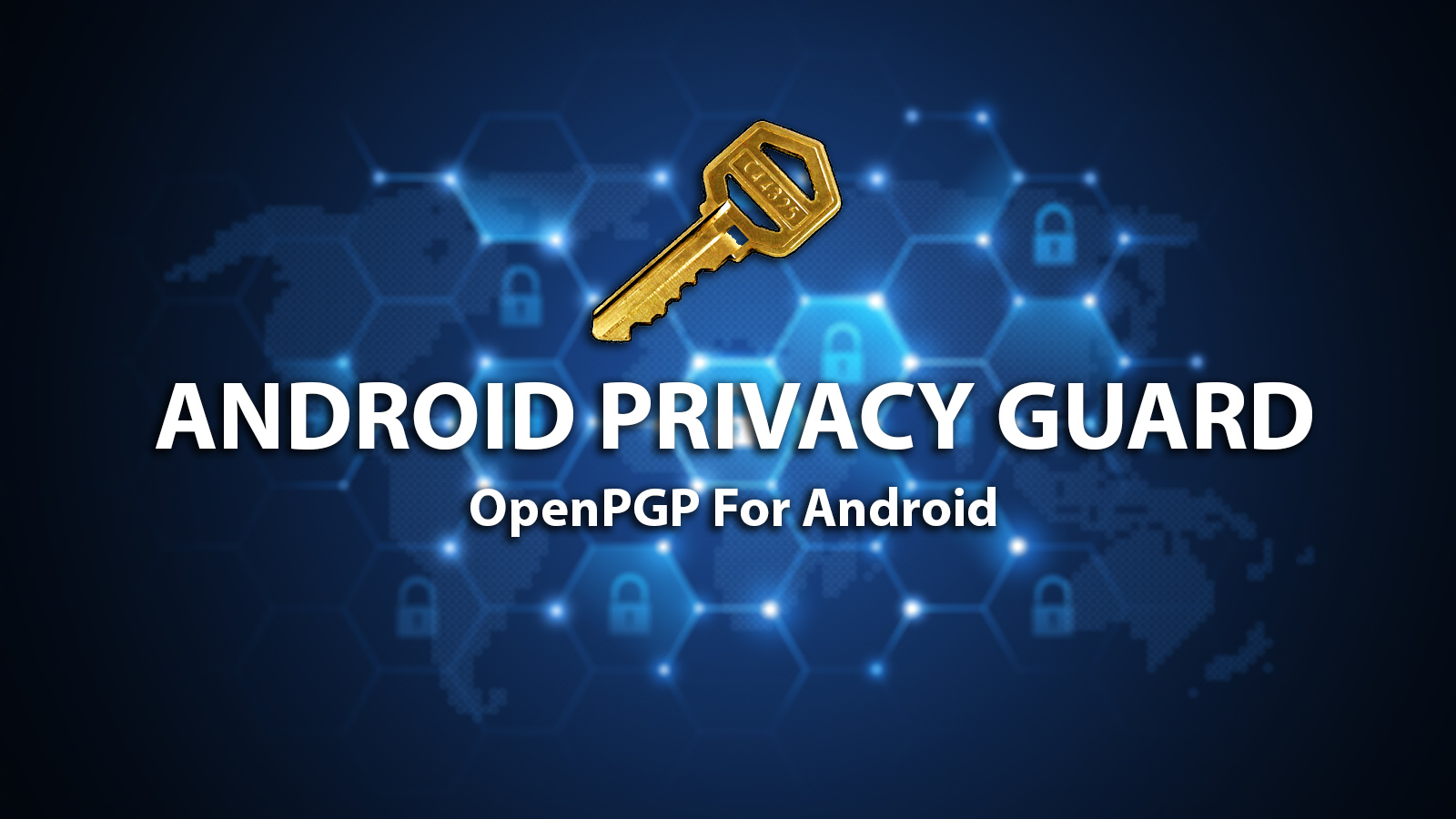 Android Privacy Guard - OpenPGP For Android