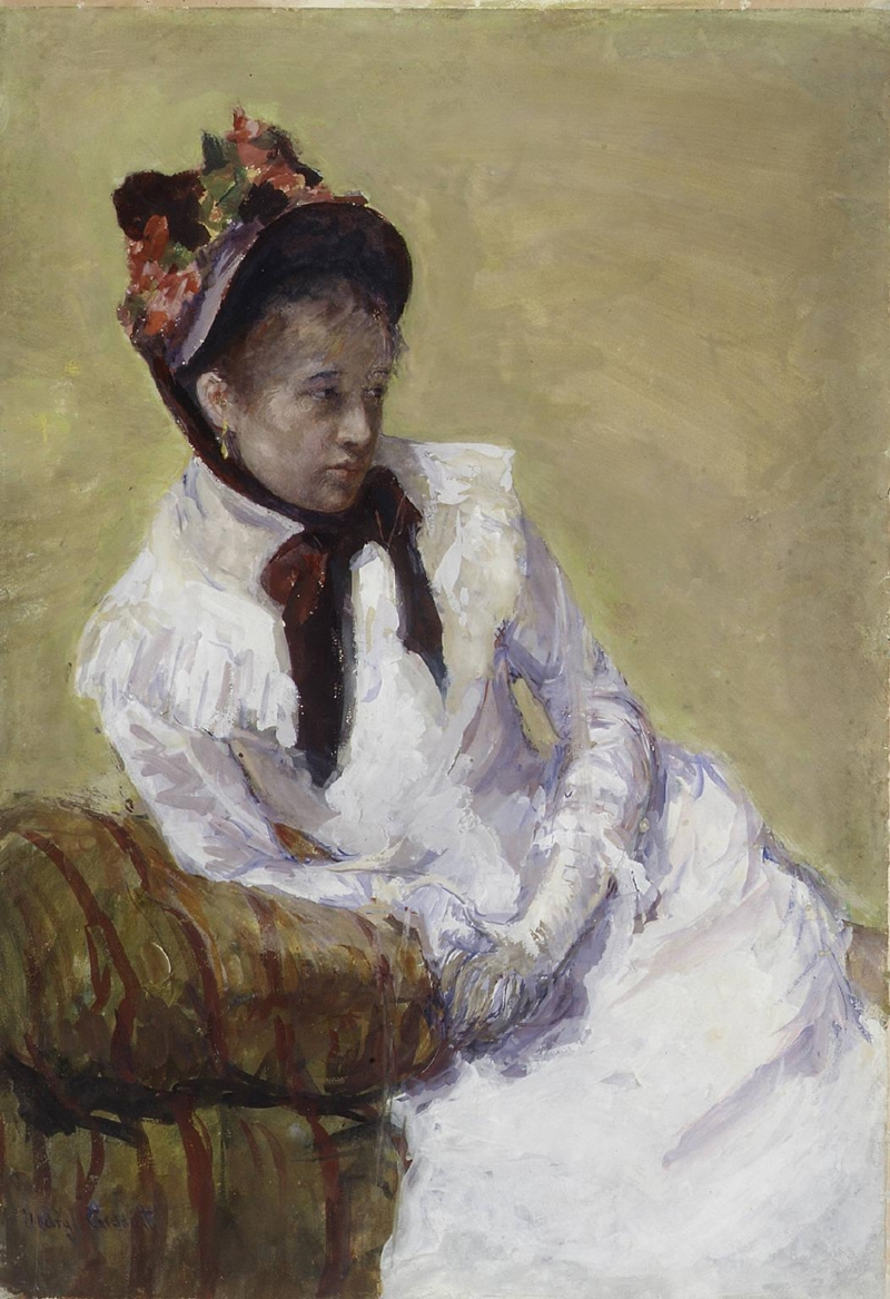 Mary Cassatt - Self-portrait, 1878
