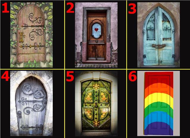 Pilih satu pintu yang menarik