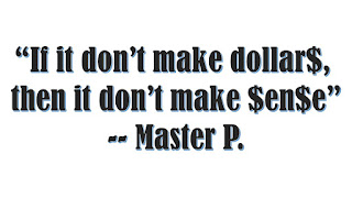 Multi-level marketing parody_graphic of quote about dollars and cents