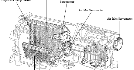 Toyota FJ Cruiser 2007 Air Conditioning Diagrams