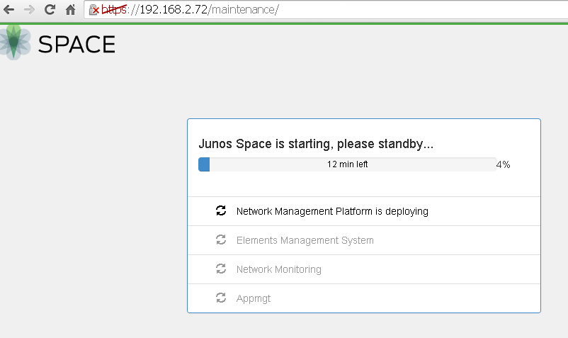 Install JUNOS Space Virtual Appliance at ESXi 5 5 - Cyber Security Memo