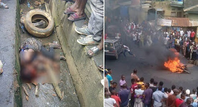 Full Story Of The Female Kidnapper Lynched In Ikorodu Yesterday, List Of Items Found On Her