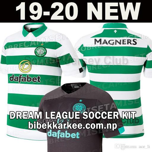Celtic Dream League Soccer Kit and Logo for 2019/2020