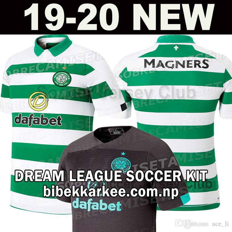 huge discount ca419 9f6ee Celtic Dream League Soccer Kit and Logo for 2019/2020 ...