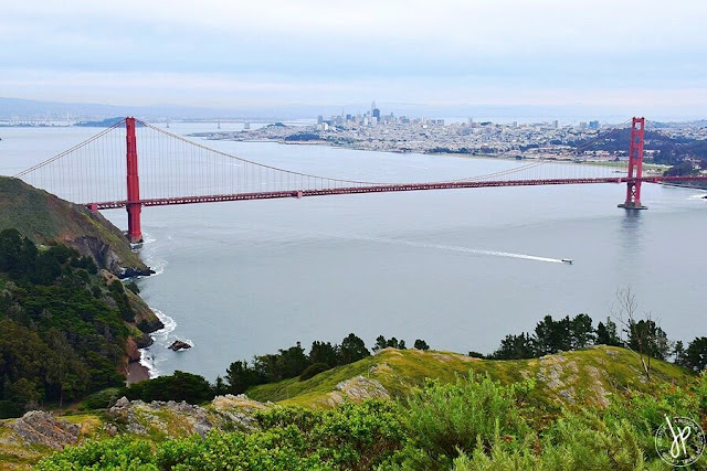 orange suspension bridge, bay area