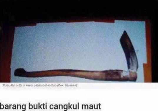 Kisah Sebenar Gadis Dibunuh Kejam, Dijolok Batang Cangkul Hingga Maut Di Indonesia