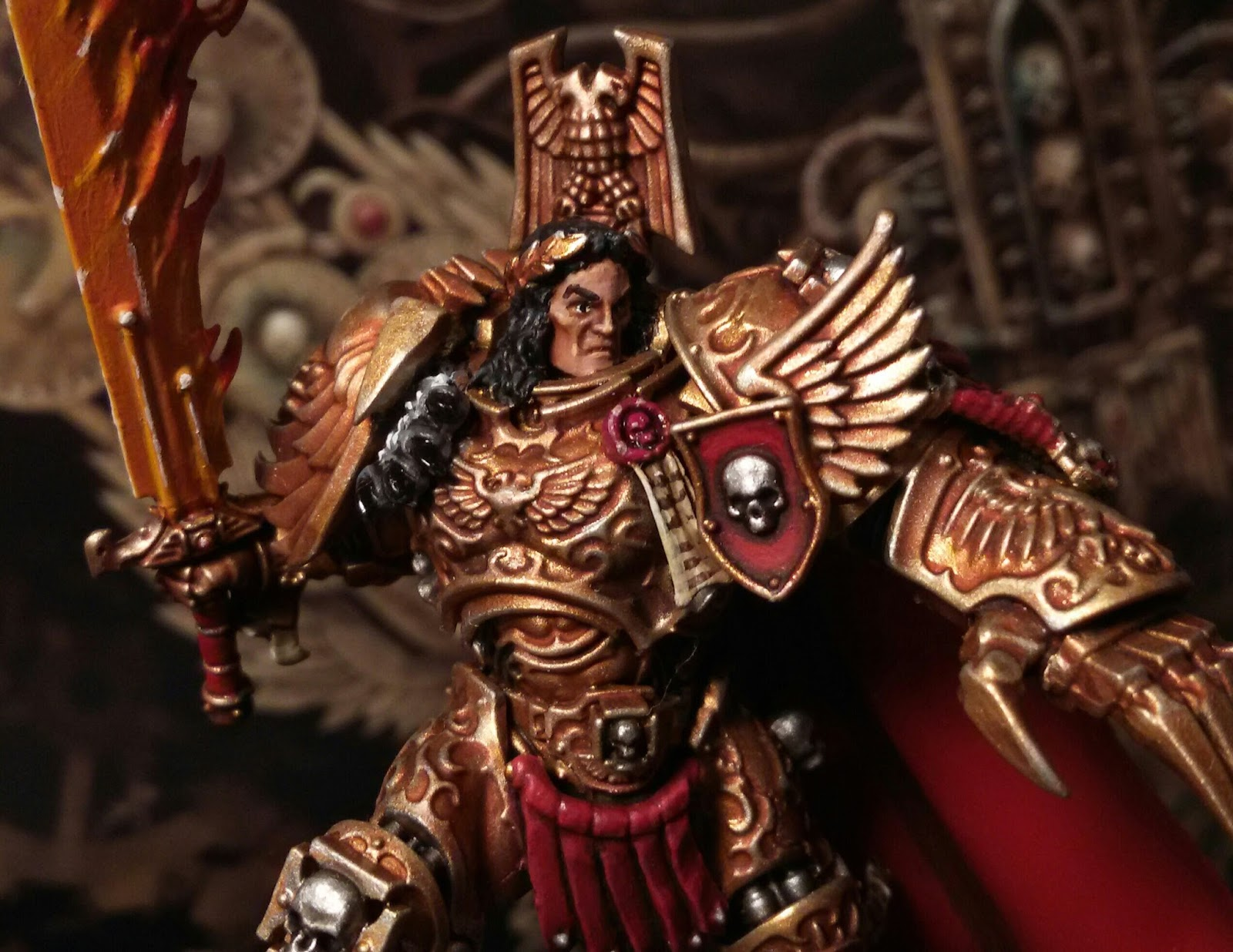 What's On Your Table: God Emperor of Mankind Conversion ...