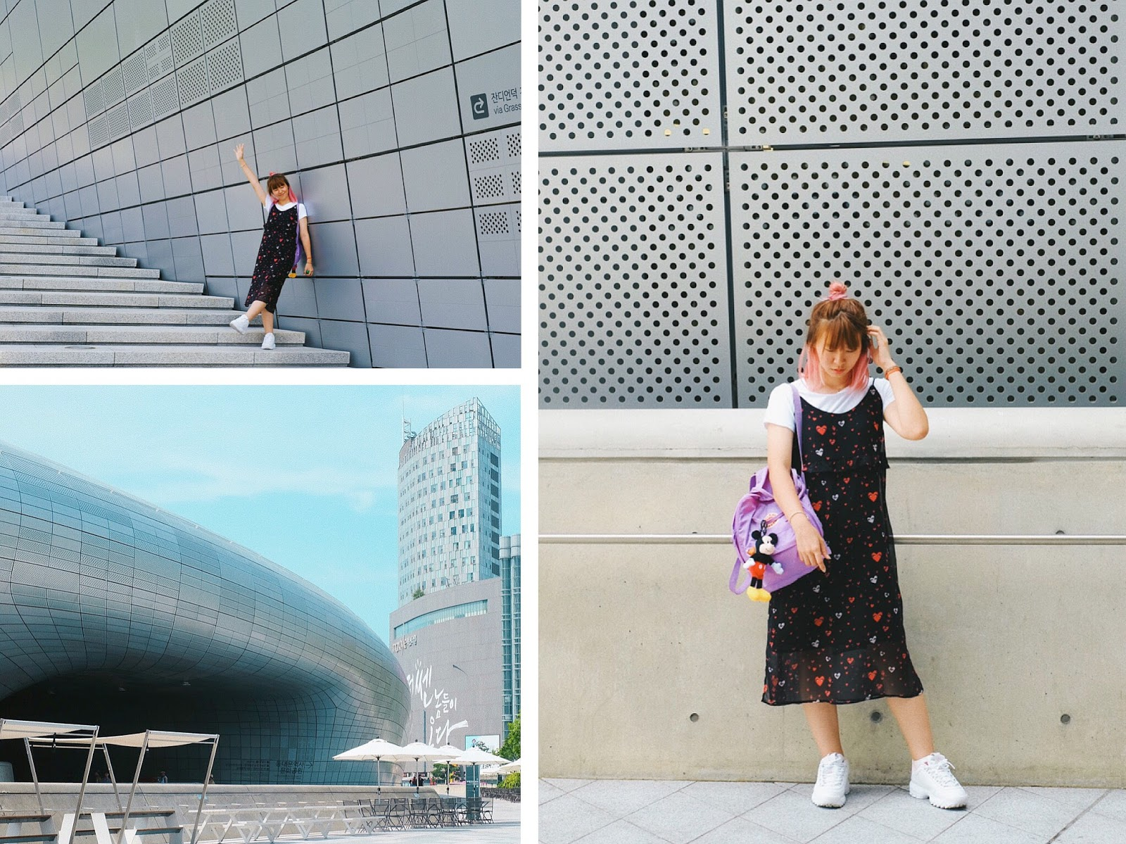 OOTD at Dongdaemun Design Plaza Seoul | www.bigdreamerblog.com