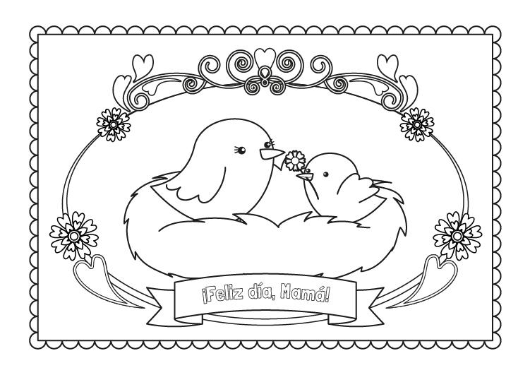 Blog Católico Navideño ®: IMÁGENES DEL DÍA DE LA MADRE PARA COLOREAR