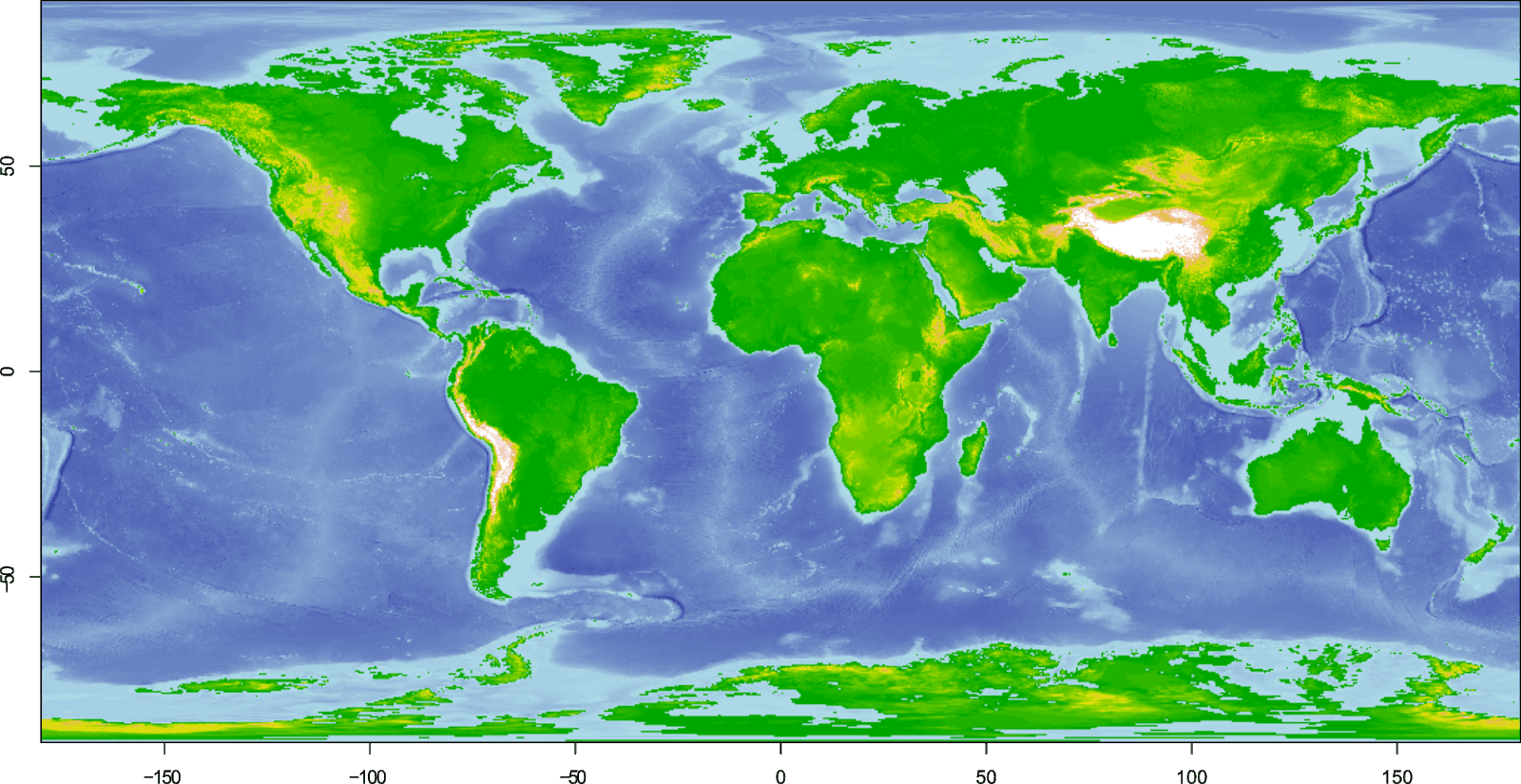 Benjamin Bell: Blog: Bathymetric maps in R: Getting and