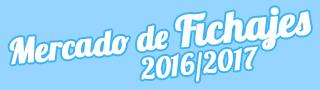 Fichajes Cantera 2016-2017