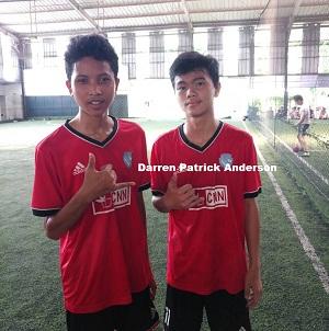 Guru Bangsa Mari Renungkan Permainan Tiki Taka  Daren Patric Anderson Siswa SMA Kanaan Jakarta Ini
