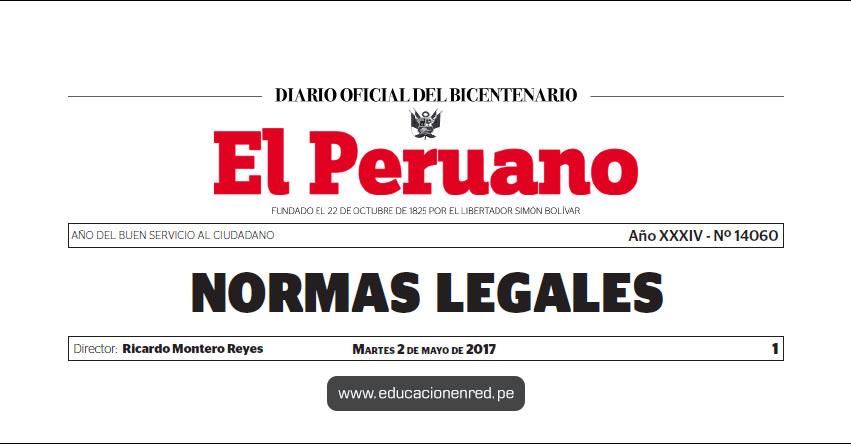 R. M. N° 139-2017-MC - Otorgan la distinción de «Personalidad Meritoria de la Cultura» www.cultura.gob.pe