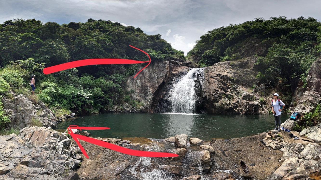 Hong Kong Hikers: Man Cheung Po's infinity pool (萬丈布