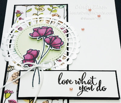 Heart's Delight Cards, Love What You Do, Share What You Love Suite, Any Occasion Card, Stampin' Up!
