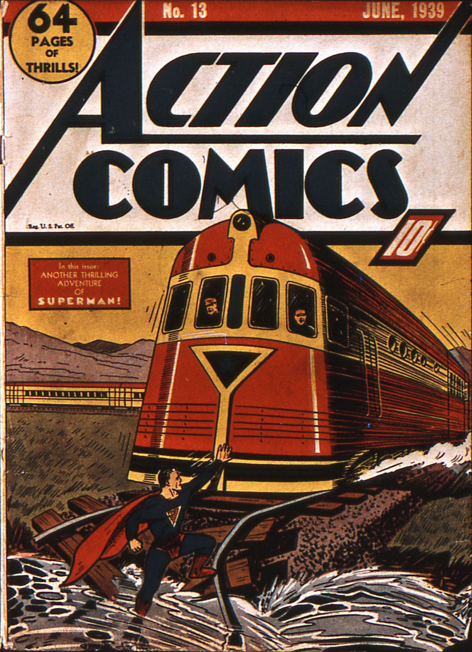 Action Comics (1938) 13 Page 1
