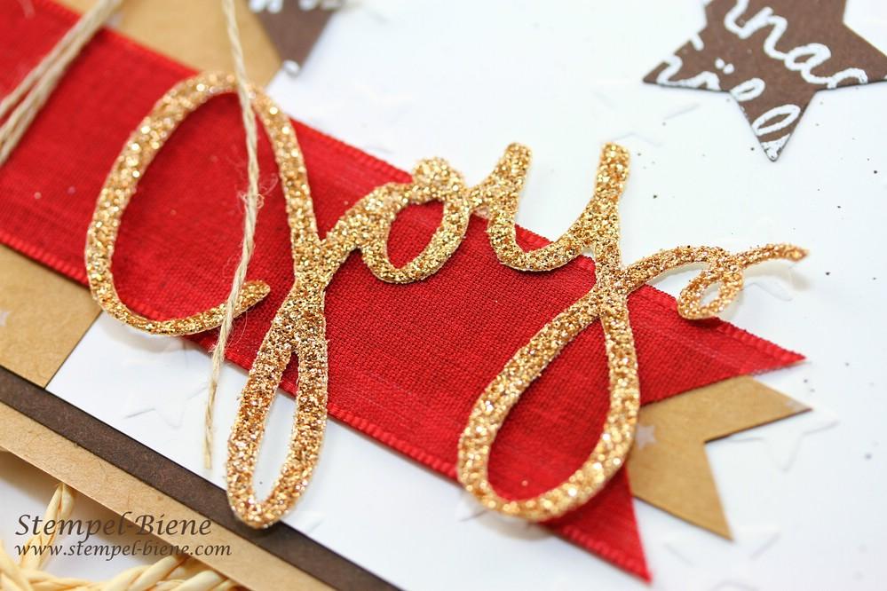 Stampin Up Framelts Formen Willkommen, Weihnacht; Stampin Up Weihnachtskarte, Designerpapier Unterm Christbaum, Framelits Stern-Kollektion, Match the Sketch, Stampin Up Weinachtsbestellung