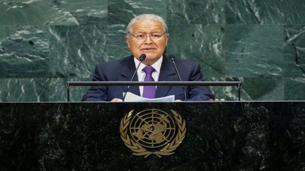 El Salvador pide a la ONU fondos para atender daños climáticos