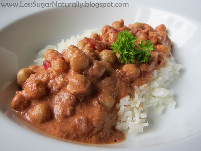 Easy Meals Homemade Chana Masala