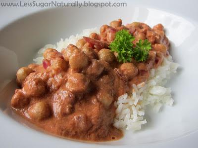 Easy Meals Homemade Chana Masala