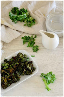 receta Kale salteado- Kale chips- Kale snacks- snack saludable: chips de Kale