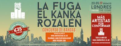 Festival música eñe 2017 Concurso de bandas