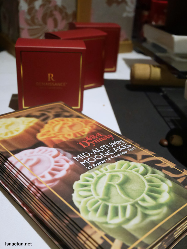Mid-Autumn Mooncakes, choose from baked or snowskin mooncakes