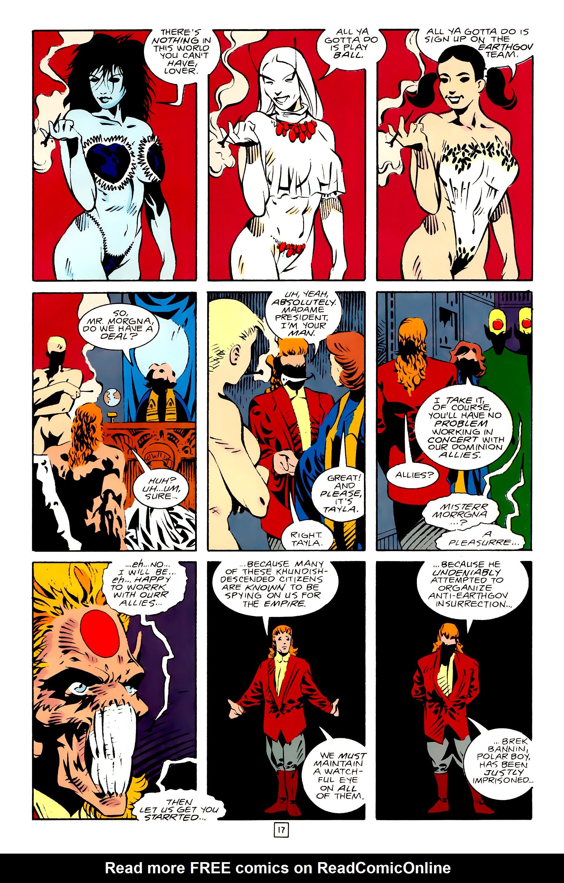 Legion of Super-Heroes (1989) 28 Page 17