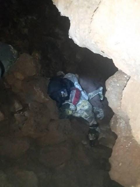 بالصور العثور على أربع جثث متفسخة في ريف السويداء.!