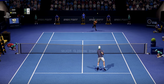 Tennis World Tour se luce en acción en este vídeo