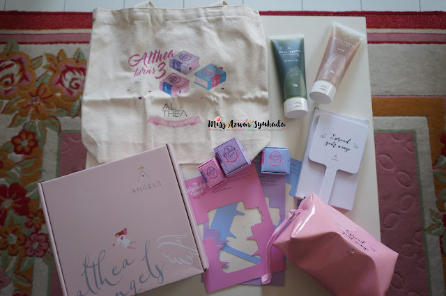 Unboxing Welcome Gift Box Angels   Althea Turns 3!