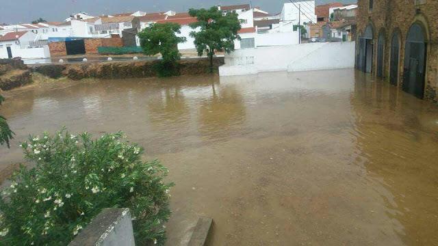 Lluvia de Otoño en Valverde del Camino 2017