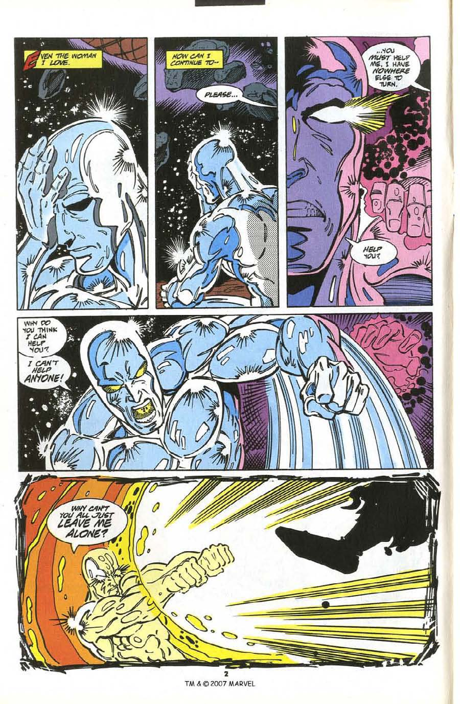 Read online Silver Surfer (1987) comic -  Issue #76 - 4