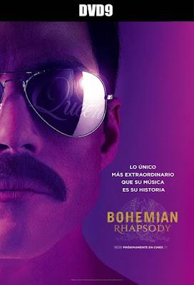 Bohemian Rhapsody 2018 DVD9 R1 NTSC Latino