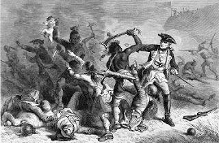 Irokézek mészárlása a William Henry erődnél