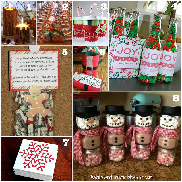 Gift Ideas For Coworkers For Christmas: Smith Family: DIY Inexpensive Christmas Gifts
