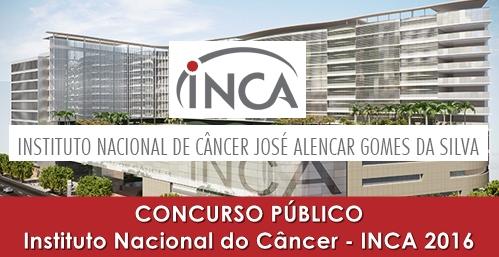 Apostila Concurso INCA 2016